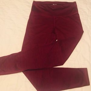 Women's Large (Tall) purple tights Old Navy Active